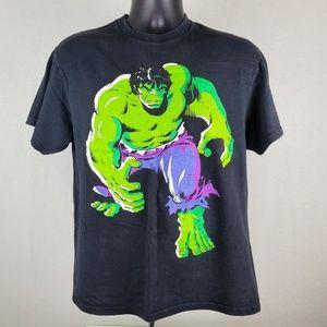 Marvel Comics The Hulk T Shirt Short Sleeve LG